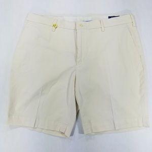 Polo Ralph Lauren Flat front light yellow shorts